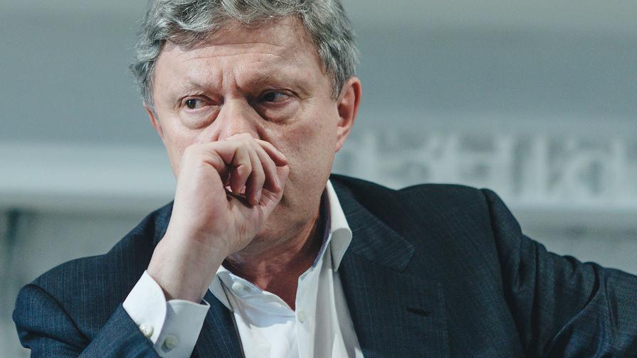 Выборы довели Явлинского до больницы