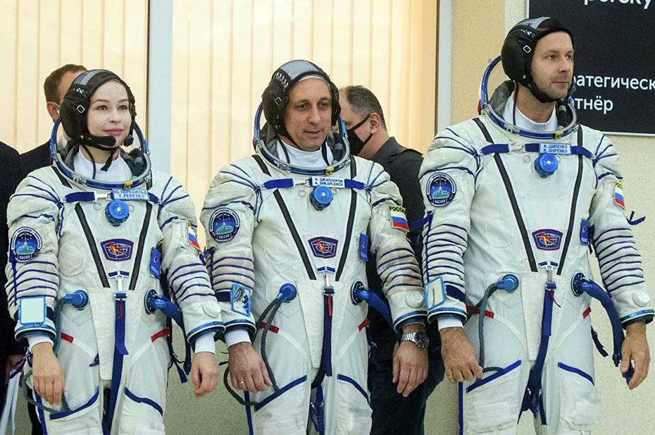 Российский «киноэкипаж» допустили к подготовке на Байконуре