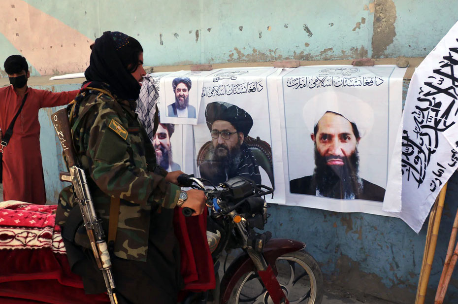 «Талибан»* сформировал временное правительство в Афганистане