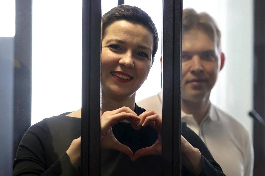Белорусский суд вынес приговоры оппозиционерам Марии Колесниковой и Максиму Знаку