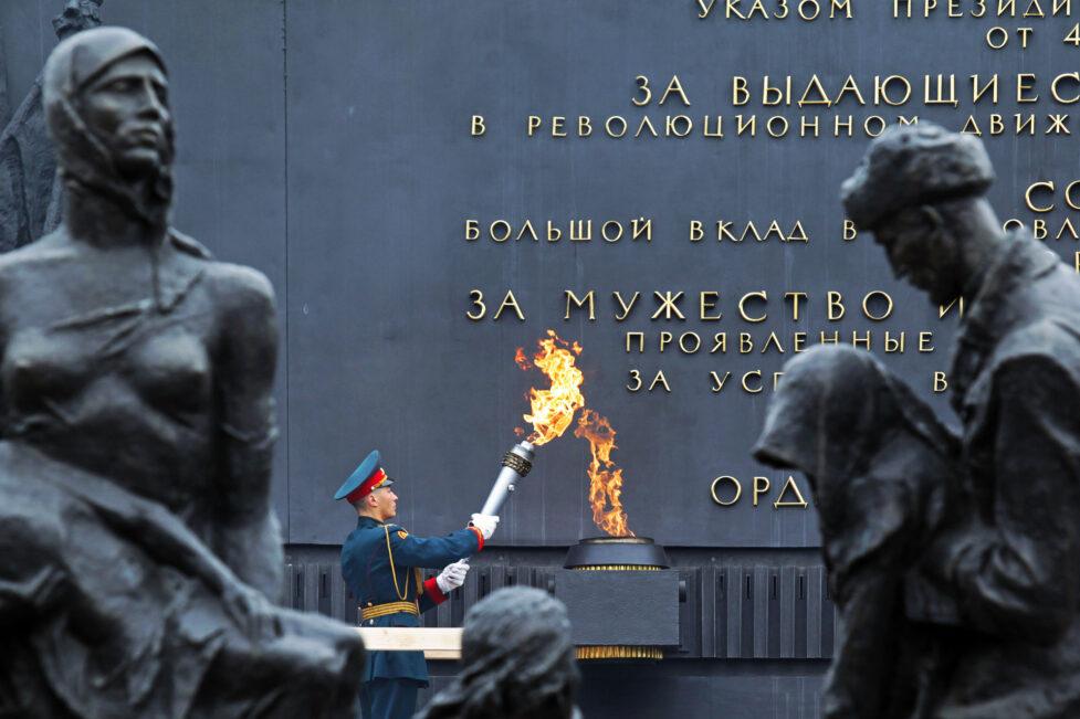 В Петербурге вспоминают жертв блокады Ленинграда
