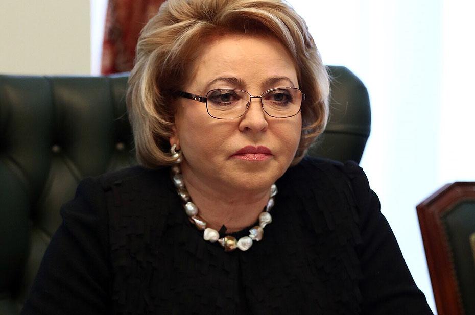 Матвиенко заявила, что выплаты пенсионерам не связаны с политикой