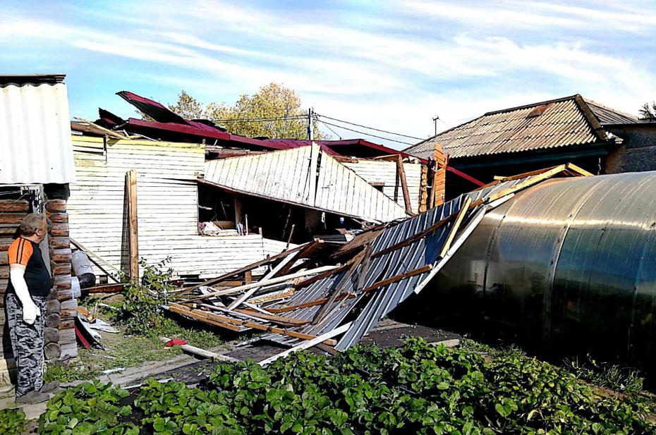 В Омской области женщина попала в реанимацию из-за взрыва газа