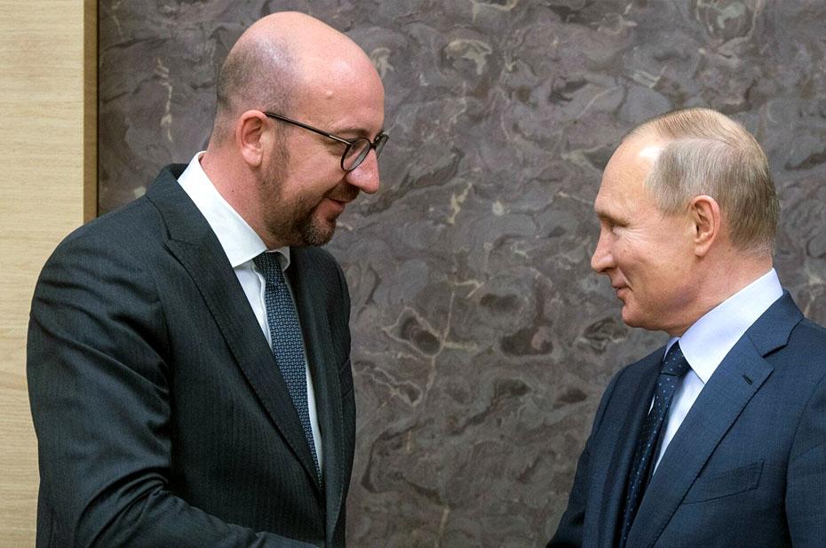 Путин и глава Евросовета обусдили Афганистан по телефону