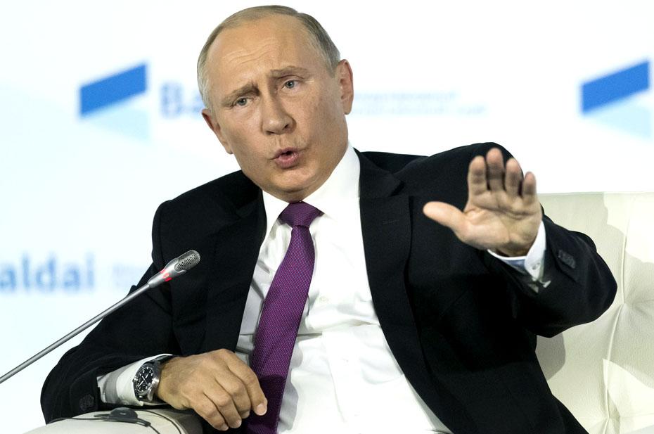 Владимир Путин издал звук, который описывает упущенные возможности российской угольной промышленности