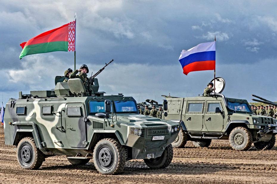 На девяти российских полигонах стартовали совместные учения РФ и РБ