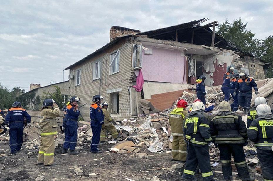 В Липецкой области произошел взрыв газа в жилом доме, есть погибшие и раненые