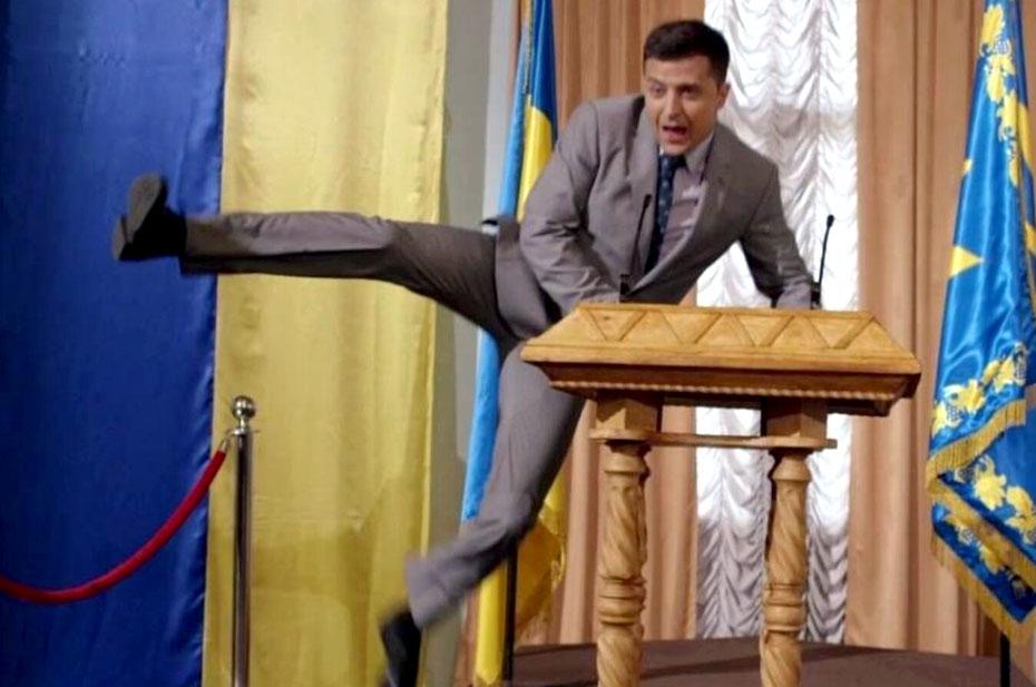 «У Зеленского нет конкурентов», – пропрезидентская партия на Украине