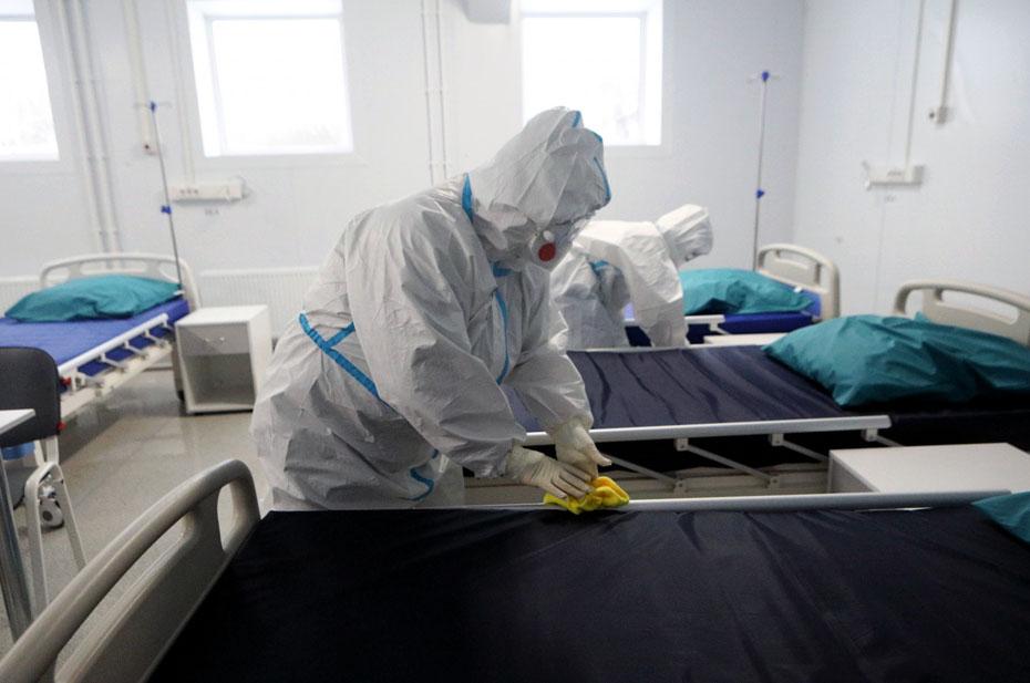 В России побит новый рекорд смертности от коронавируса