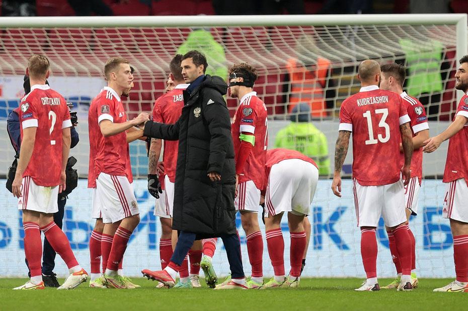 Россия вышла на первое место в отборочном туре ЧМ-2022