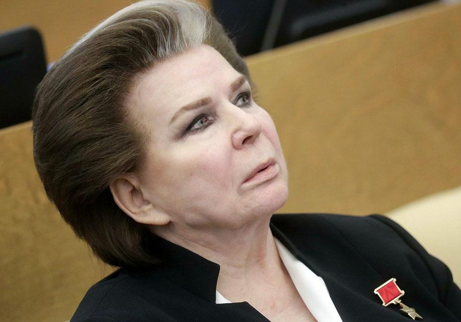 Валентина Терешкова будет старейшим депутатом Госдумы вместо Ресина