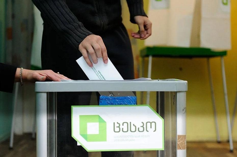 ЦИК Грузии огласила первые результаты местных выборов